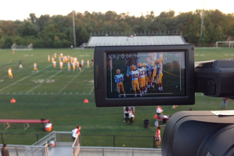 Video For School Football Team