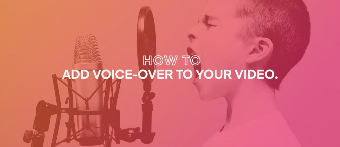 how to add voice-over to your video