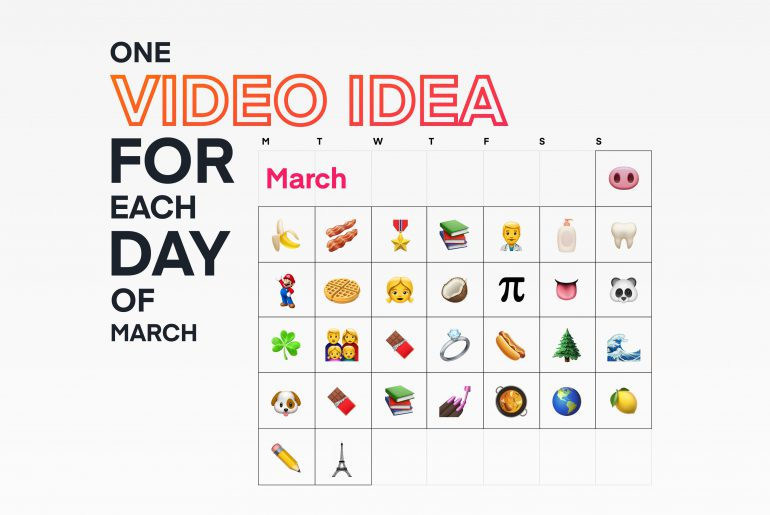 31 content ideas for each day of March