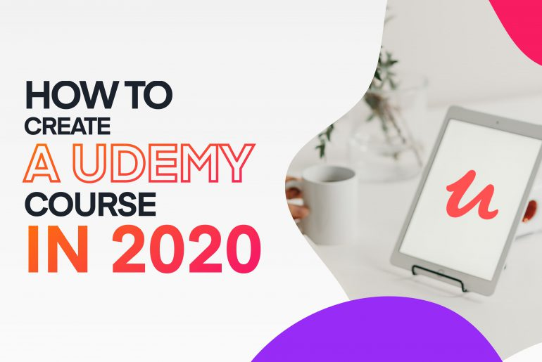 How to create a video course on Udemy