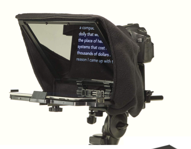 Caddie Buddy Teleprompter