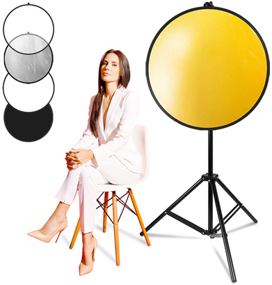 the LimoStudio 5-in-1 Reflector Kit